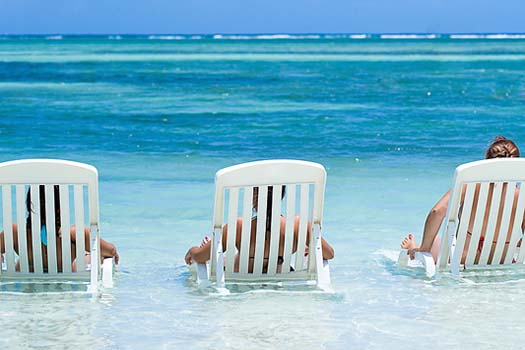 Beach holidays are popular for 2013