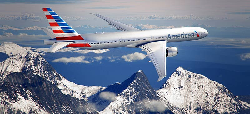 American Airlines - new livery and logo