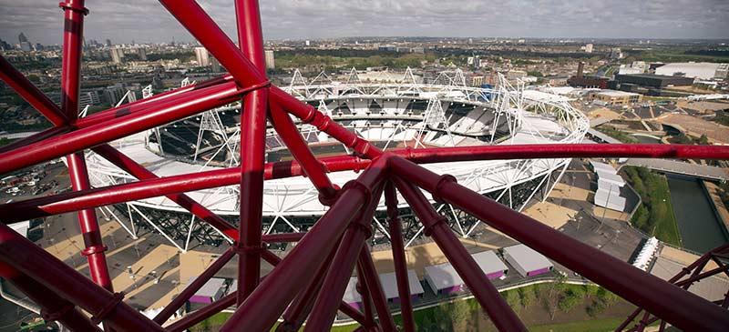 ArcelorMittal Orbit - England's tallest viewing platforms