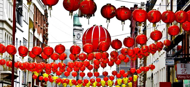 Chinese New Year in London, England