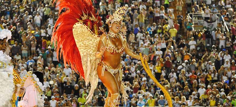 Rio Sambadromo - Top 10 carnivals in the world