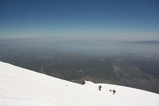 Villarrica volcano hike, Chile