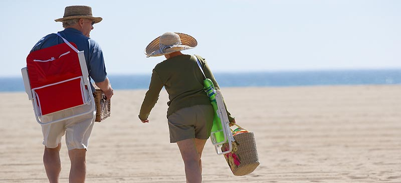 Over-60s are the biggest holiday spenders