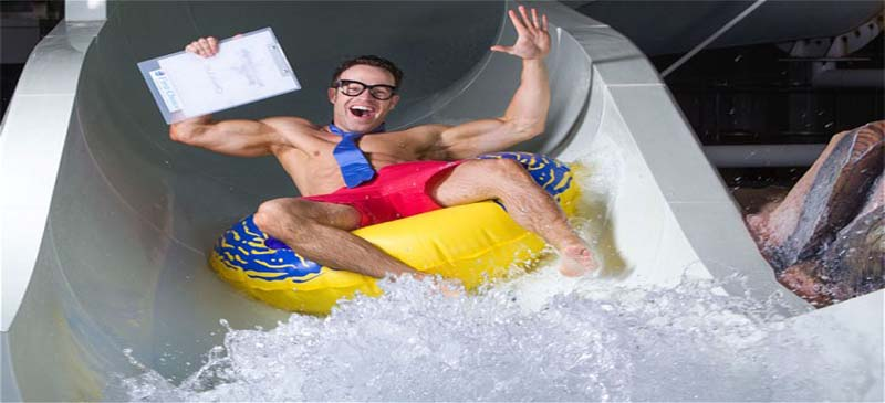 Do you have what it takes to be a water slide tester?