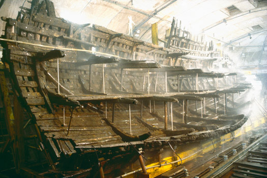Part of the Mary Rose