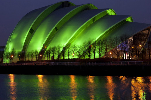 The Clyde Auditorium - Armadillo - Glasgow, Scotland