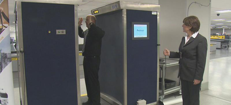 Backscatter machines to be removed from service