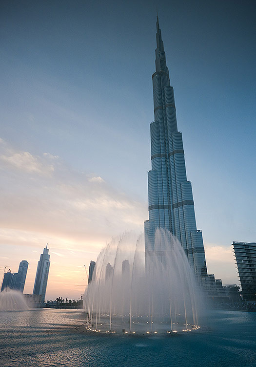 Burj Khalifa, Dubai - TripAdvisor's most talked about attractions of 2012