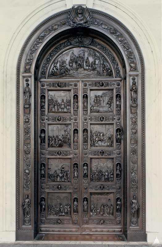 The Columbus Doors, United States Capitol in Washington, DC