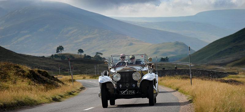 Drive a classic car around Scotland - The Cognoscenti