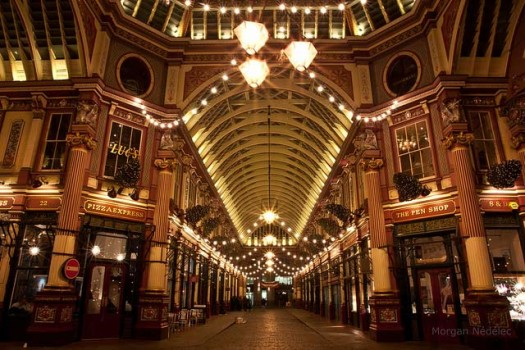 Leadenhall Market - one of London's oldest covered markets