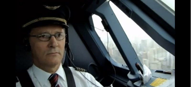 Pilot poker face