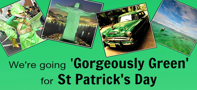 Go Gorgeously Green and win in our Saint Patrick's Day Pinterest competition