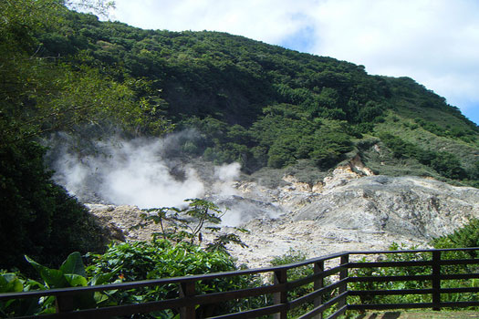 Soufriere — In the crater