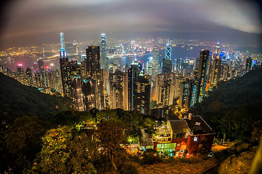 Victoria Peak, Hong Kong - TripAdvisor's most talked about attractions of 2012