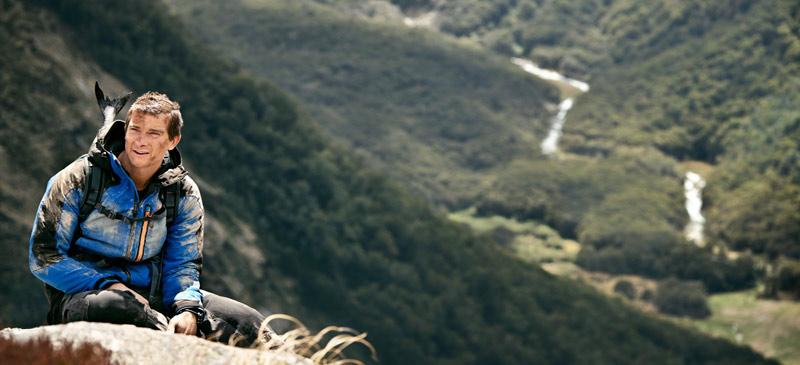 Bear Grylls - Air New Zealand safety video