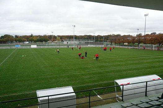 PSG's training ground, Camp des Loges