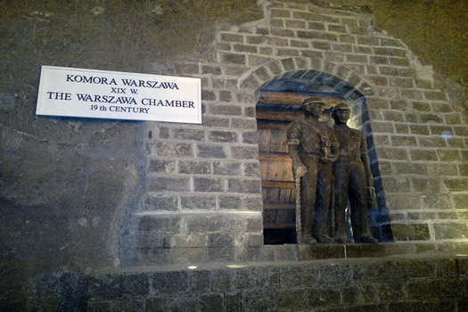 The Warszawa Chamber at Wieliczka Salt Mine, Poland