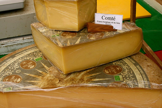 Comté from the Franche Comté region of Eastern France