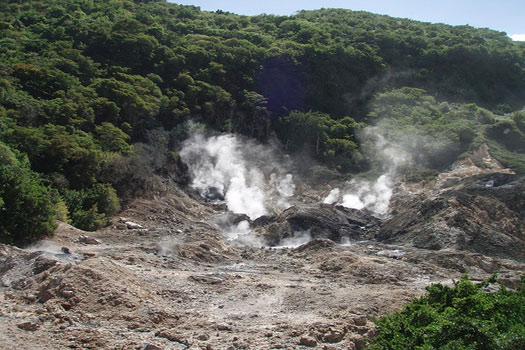 Drive-in volcano - Soufrière