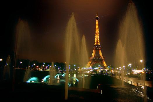 The Eiffel Tower, Paris, FranceThe Eiffel Tower, Paris, France