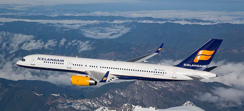 New flights from Gatwick... Icelandair