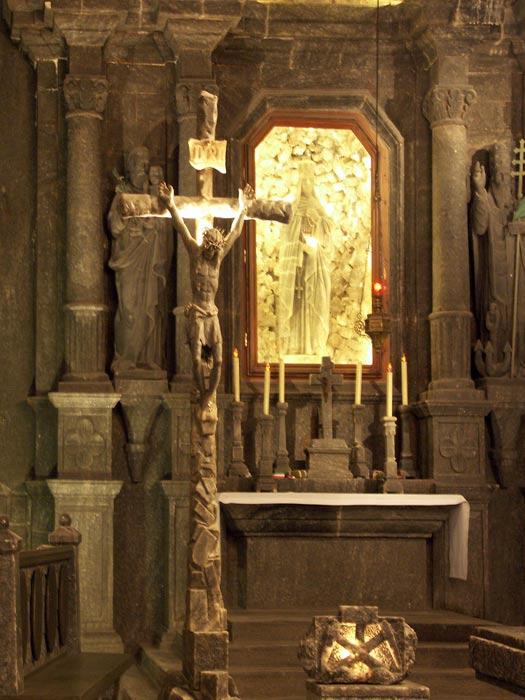 Chapel Sacristry at Wieliczka Salt Mine, Poland
