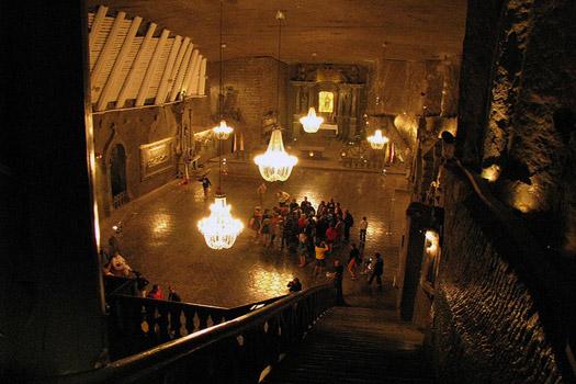 Wieliczka Salt Mine, Wieliczka, near Krakow, Poland