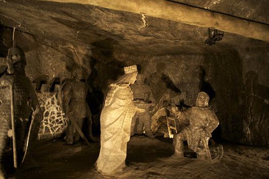 Janowice Chamber at Wieliczka Salt Mine, Poland