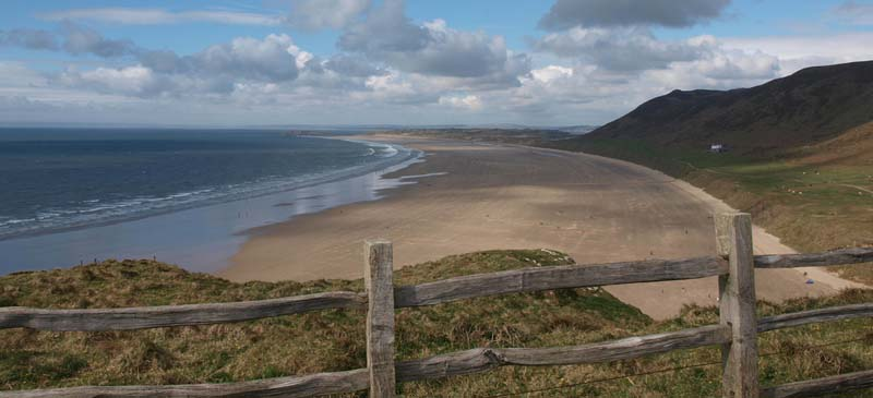 One of the best in Europe... Rhossili Bay