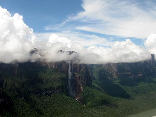 Angel Falls - Top 10 breathtaking waterfalls in  the world