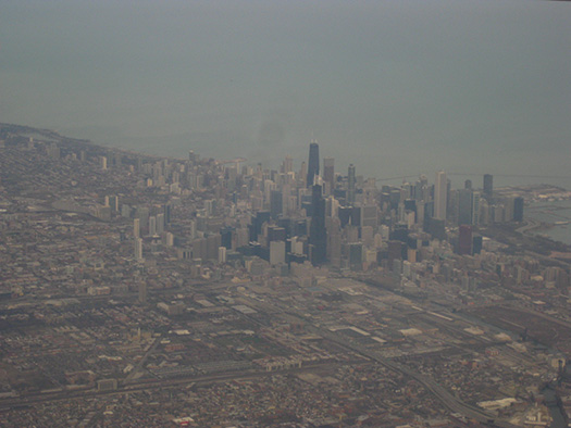 Chicago (C1) - 5 Famous cities from the window seat