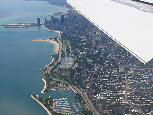 Chicago (C2) - 5 Famous cities from the window seat