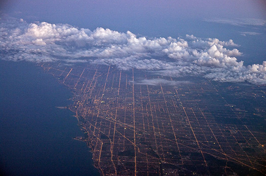 Chicago (C3) - 5 Famous cities from the window seat