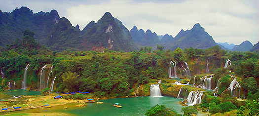 Detian - Top 10 breathtaking waterfalls in  the world