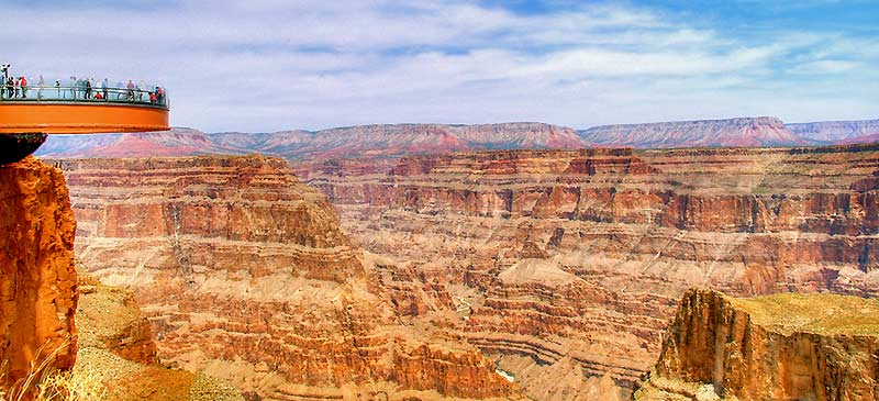 Grand Canyon Skywalk - 11 Coolest Natural Observation Decks