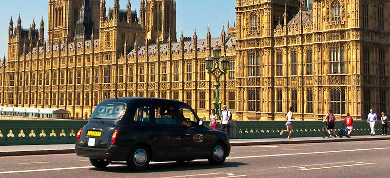 Taxi cab - Around the world in 80 ways