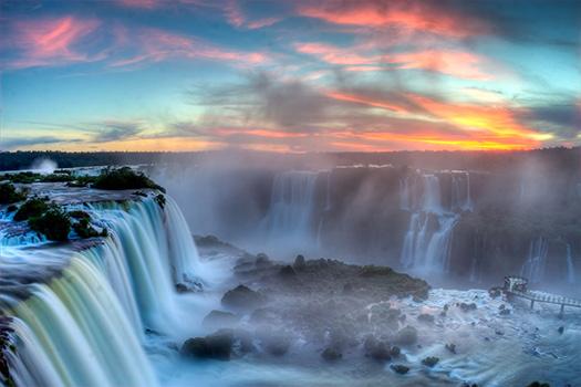 Iguazu - Top 10 breathtaking waterfalls in  the world