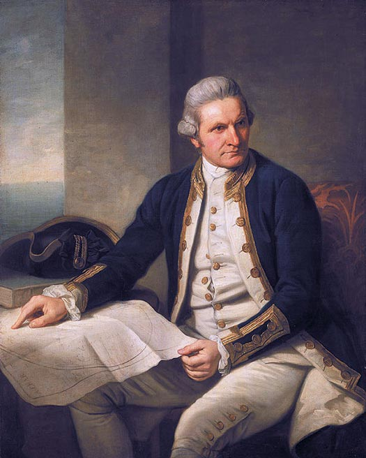 James Cook - Great expeditions that changed the world