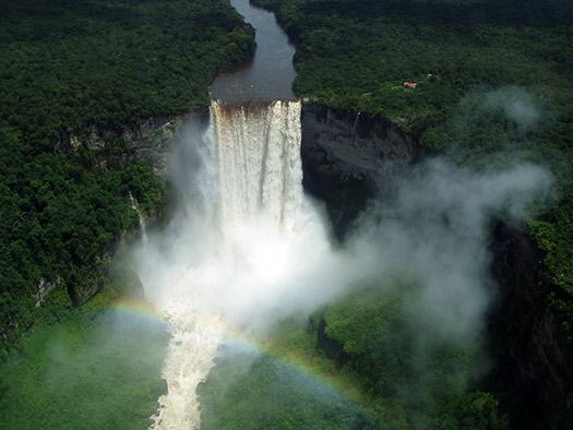 Kaieteur - Top 10 breathtaking waterfalls in  the world