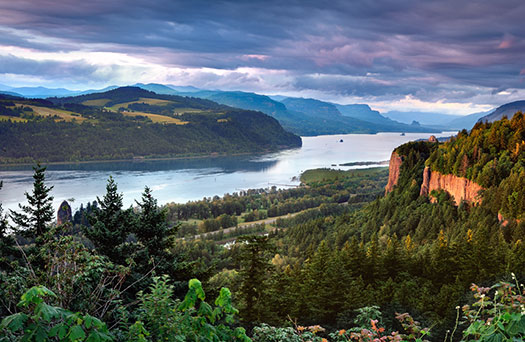 Lewis and Clark - Columbia River