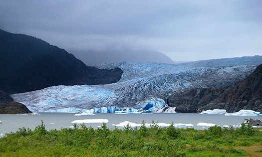 Mendenhall Glacier - Best helicopter tours in the world