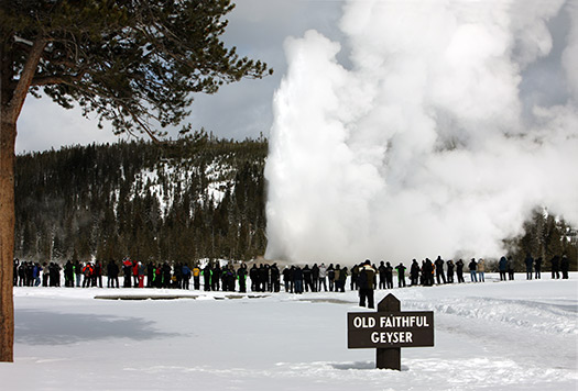 Old Faithful - 5 Yellowstone adventures