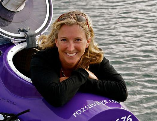 Roz Savage  - 10 Modern-day female adventurers