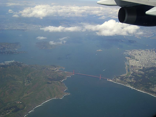 San Francisco (E2) - 5 Famous cities from the window seat
