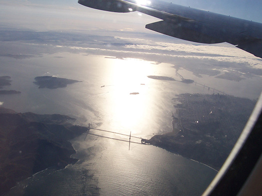 San Francisco (E3) - 5 Famous cities from the window seat