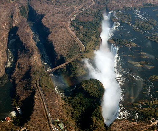 Victoria Falls - Best helicopter tours in the world