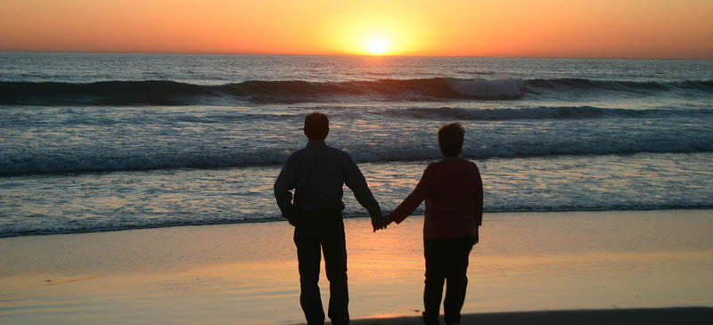 Travelling can bring couples closer together