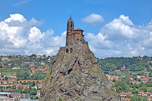 Saint Michel d'Aiguilhe, France. Photo by Peter Stevens