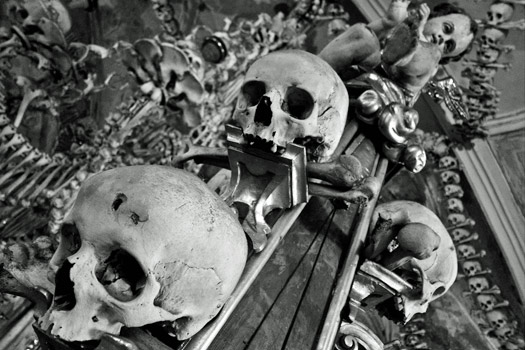 Church of All Saints contains the skeletons of between 40,000 and 70,000 people. Photo by Alberto Carrasco Casado